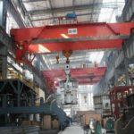 Steel mill cranes