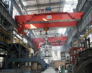 dedicated ellsen steel mill crane