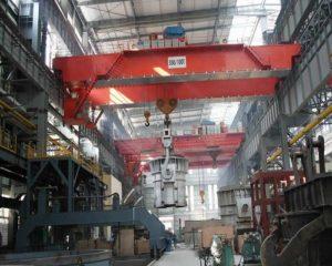 dedicated ellsen steel mill crane