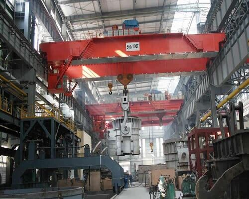 dedicated ellsen steel mill cranes for sale