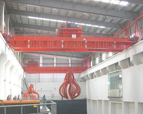 ellsen scrap handling cranes-for-steel-mill