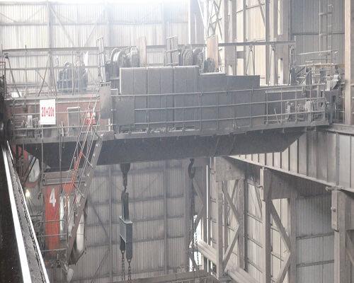 ellsen steel tundish casting cranes