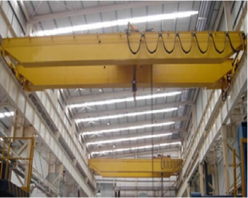 20t Electromagnetic Double Girder Overhead Crane with Carrier Beam