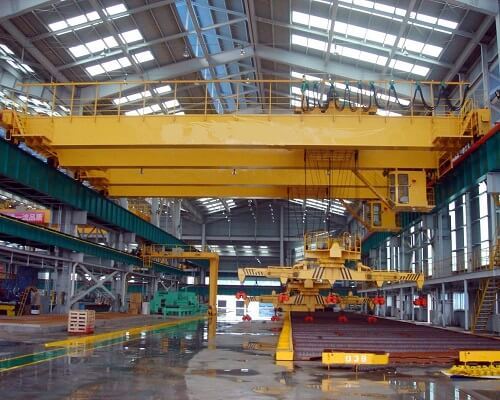 Ellsen Overhead Crane with Magnet for Sale