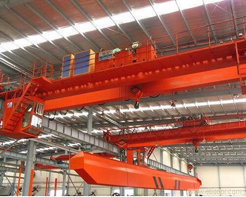 Ellsen QD Double Girder Overhead Crane with Hook for Sale