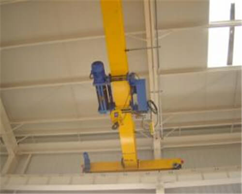 2 Ton to 20 Ton Single Girder Overhead Crane With Low Headroom Wire Rope Hoist