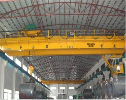 Overhead Cranes And Hoists : Girder overhead crane gantry cranes to tons from ellsen