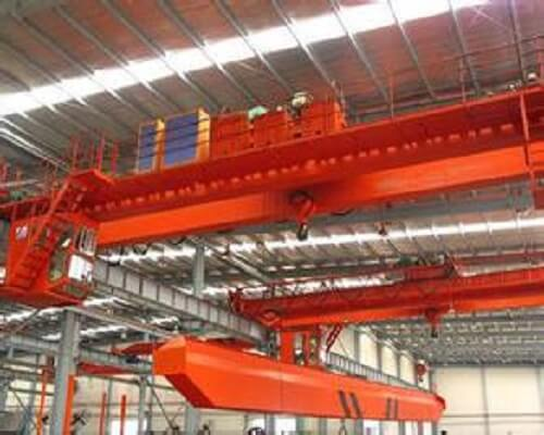 Ellsen Workshop Hoist Double Girder Bridge Crane for Sale