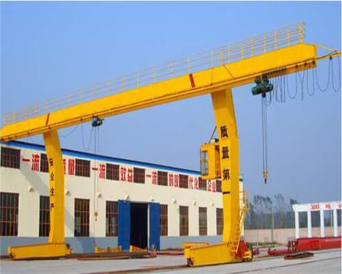 L Type Leg Single Girder Gantry Crane
