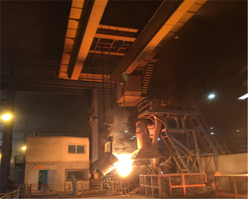 Steel Mill Use Casting Double Girder Overhead Crane