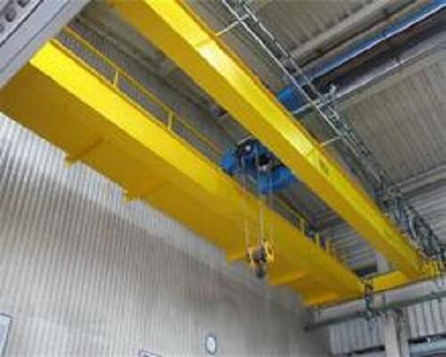 Workshop Electronic Hoist Double Girder Overhead Crane for Sale