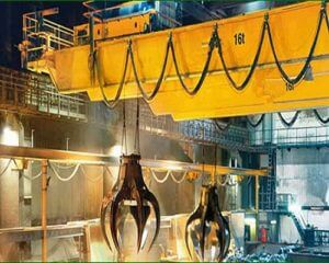 Workshop QZ Double Grider Overhead Crane with Grab