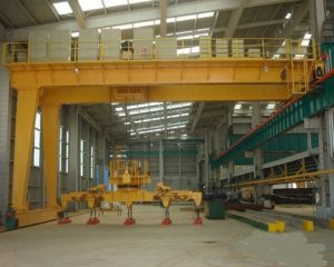 16 Ton Low Level Slewing Overhead Crane with Carrier Beam for Sale