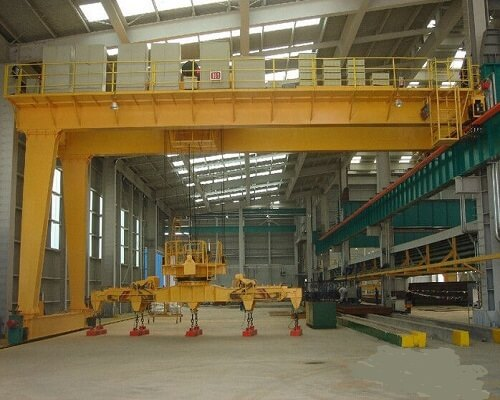 16 Ton Low Level Slewing Overhead Crane with Carrier Beam for Sale, buy a buy low level slewing overhead crane with carrier-beam at low price, Ellsen is your best Ellsen customized bridge crane supplier in Chinaoverhead