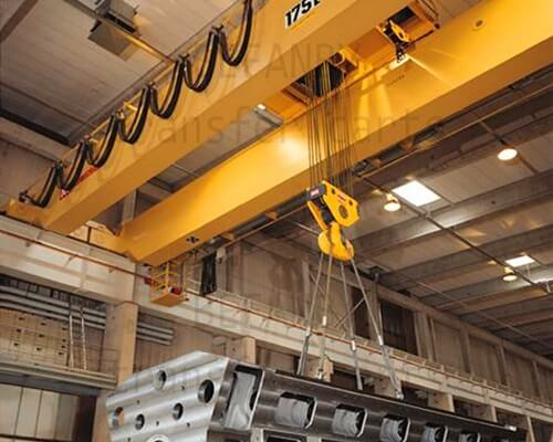 175 Ton Double Girder Overhead Crane for Sale