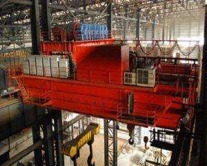 280 Ton Steel Mill Casting Bridge Crane for Sale
