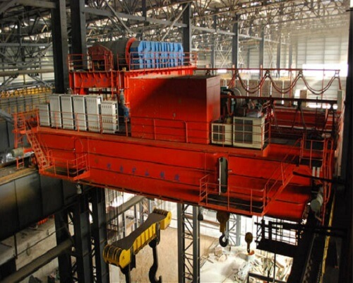 280 Ton Steel Mill Customized Casting Overhead Crane for Sale