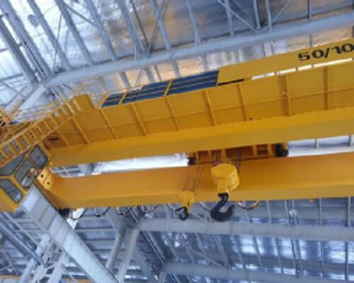 74 Tons Qdy Heavy Duty Double-beam Casting Bridge Crane in Foundry Industry
