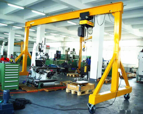 Portable Gantry Crane Price