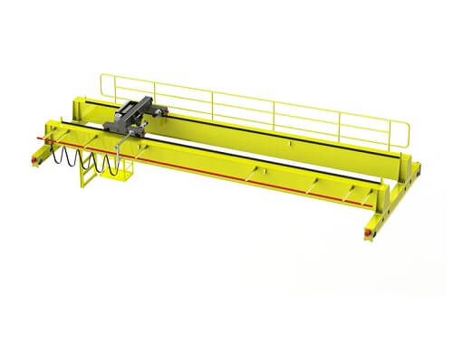 Double Girder European Overhead Crane with Electric Hoist for Sale