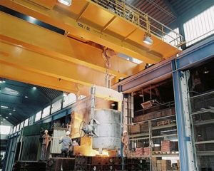 Heavy Duty Foundry Overhead Crane for Sale