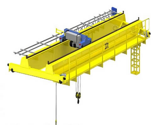 NLH European Double Girder Bridge Crane for Sale