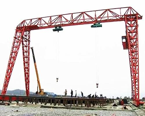 Truss Single Girder Gantry Crane for Sale