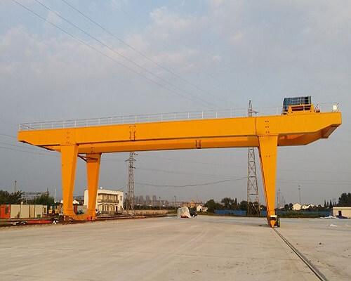 U Type Double Girder Gantry Crane for Project