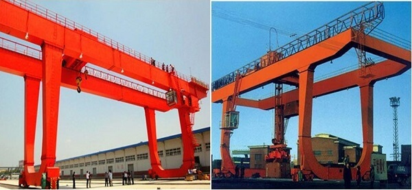 U Type Double Grider Gantry Crane Design
