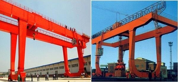 U Type Double Grider Gantry Crane Design