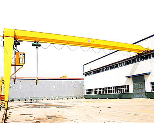 BMH Ellsen Hoist Semi 5 ton gantry crane for sale