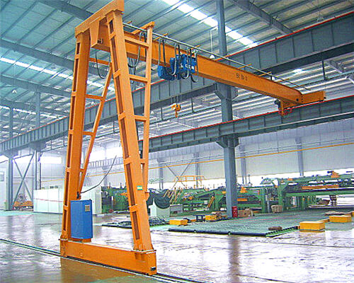 Ellsen Brnd 5 ton semi hoist gantry crane for sale