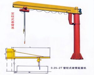 Ellsen BZ 5 ton Jib Crane for Sale