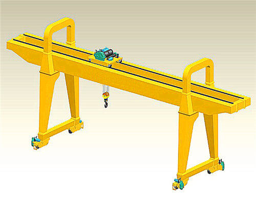 MG 5 ton double girder gantry crane for sale
