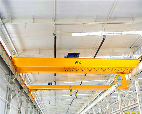 NLH Double Girder 5 Ton Bridge Crane for Sale