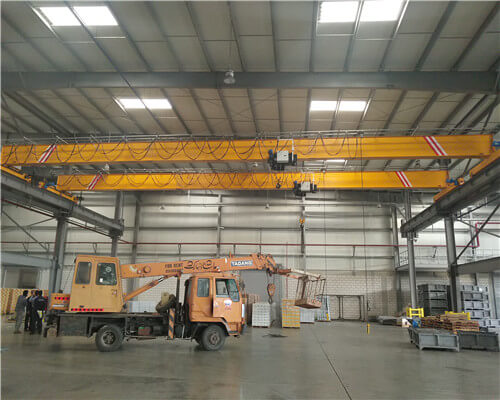 5t European Standard Single Girder Crane with 21.5m working span