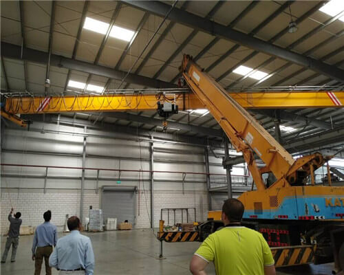 Crane Installation on Clients Factory