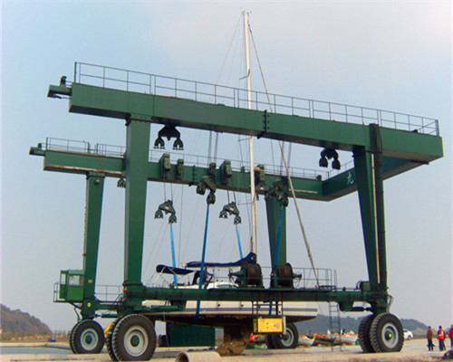 85t boat travel hoists