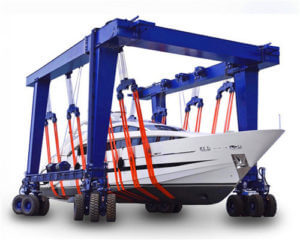 Ellsen boat travel hoists 50t for sale