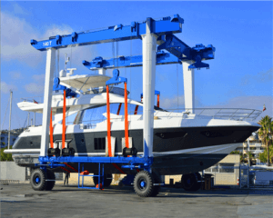 Ellsen Latest Mobile Boat Gantry Crane