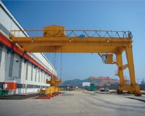 BMG Ellsen Semi 100t gantry crane for sale