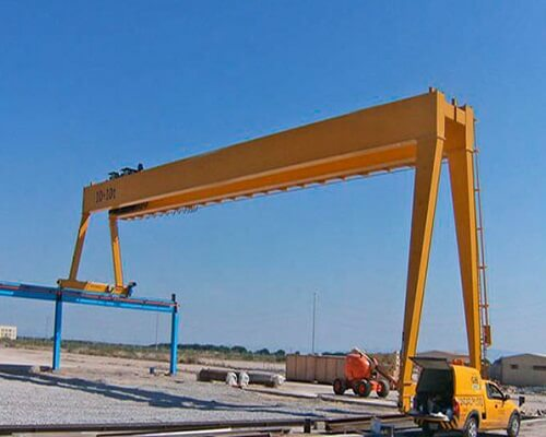 BMH Box Structure Semi Gantry Crane