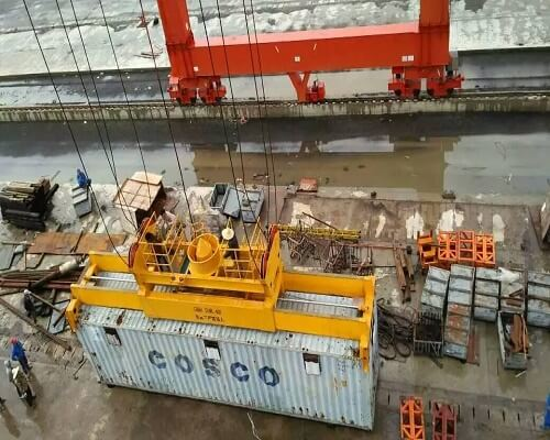 Rubber Tired Gantry Crane for Sale