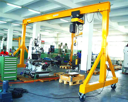 2t portable gantry crane