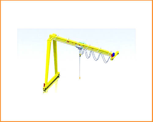 Semi gantry crane 2t for sale
