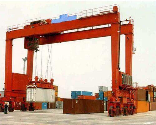 20t mobile gantry crane