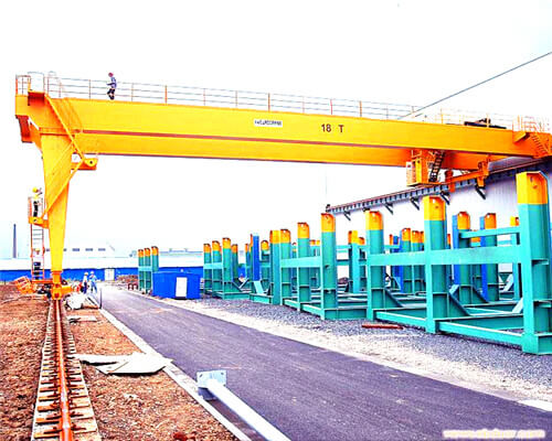 BMG European Double Girder Semi Gantry Crane