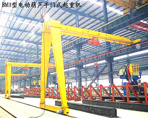 BMH Single Girder Hoist Gantry Crane