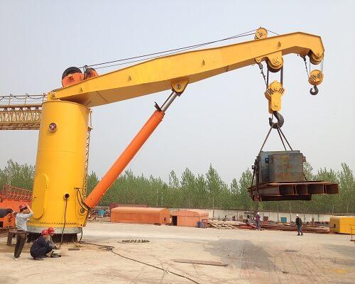 Ellsen cantilever crane 20t for sale
