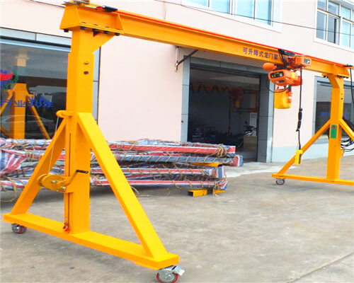 Ellsen SD A Frame Crane with Adjustable Height for Sale